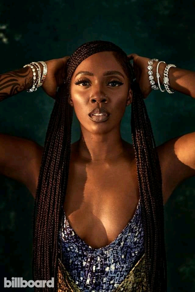 """""""Somebody's son will find me one day""""– Tiwa Savage"""