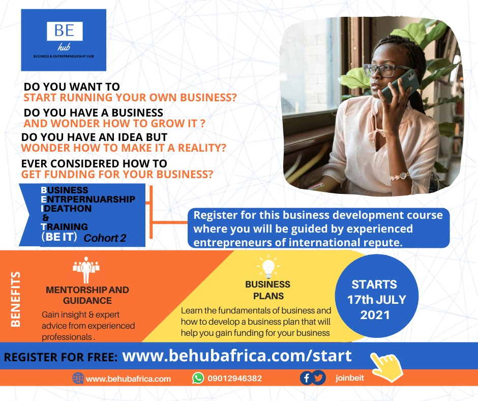 BE-iT COHORT TWO: A VISTA OF HOPE FOR THE AFRICAN YOUTH