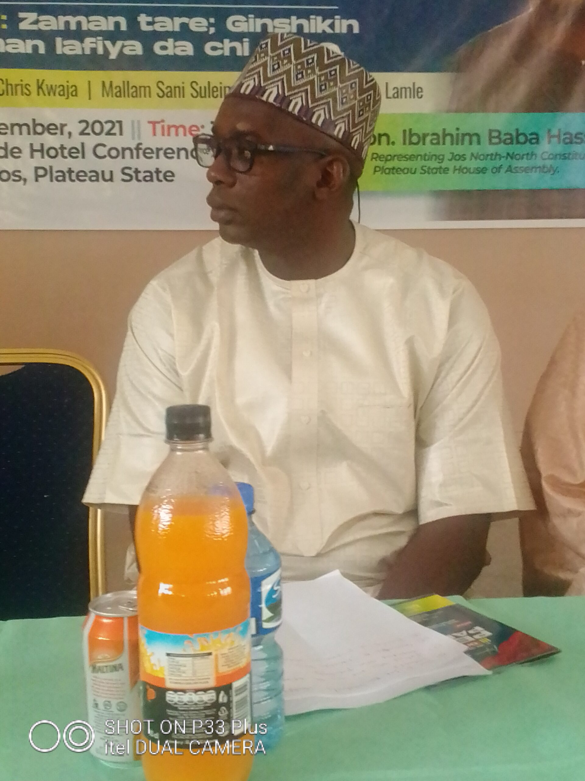 Rt. Hon. Baba Hassan organised Peace Parley with Traditional, Community and Religious leaders