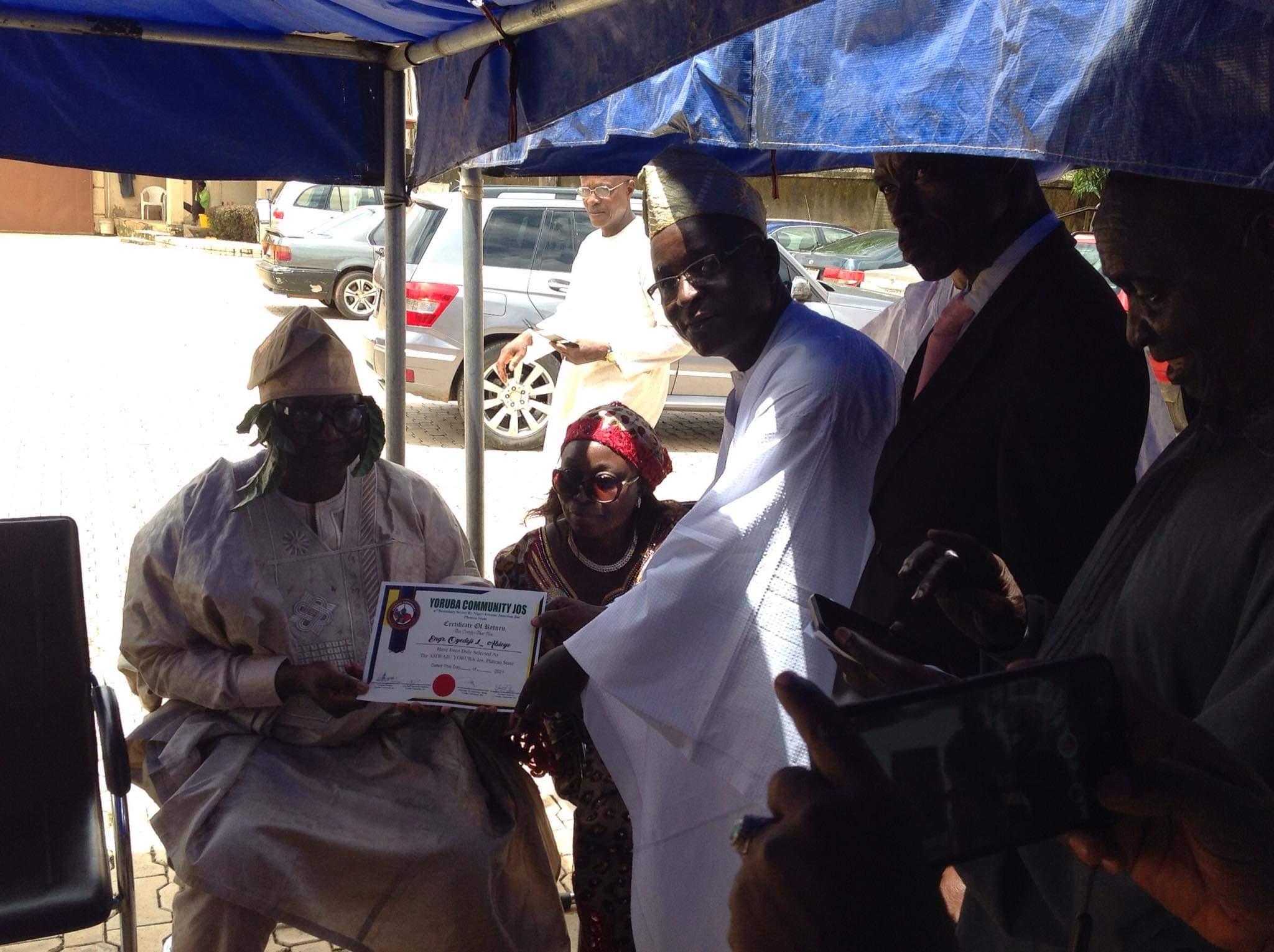 Engr. Oyedeji Abioye Emerges Asiwaju of Yoruba Community in Plateau State